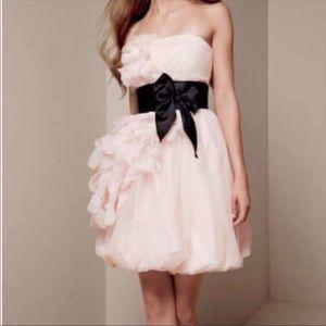 White Vera Wang   Tulle Dress